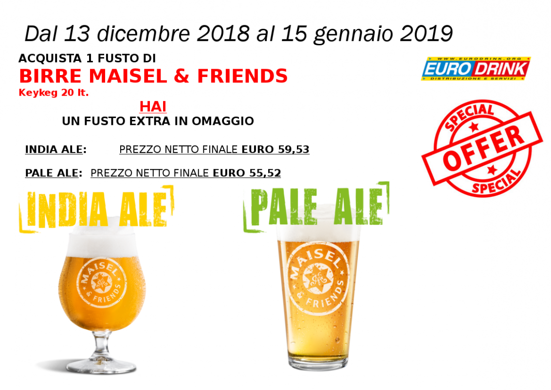 birre speciali in offerta maisel & friends